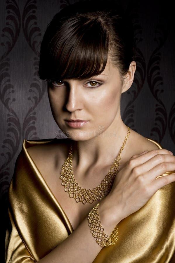 Elegante Frau stockfoto