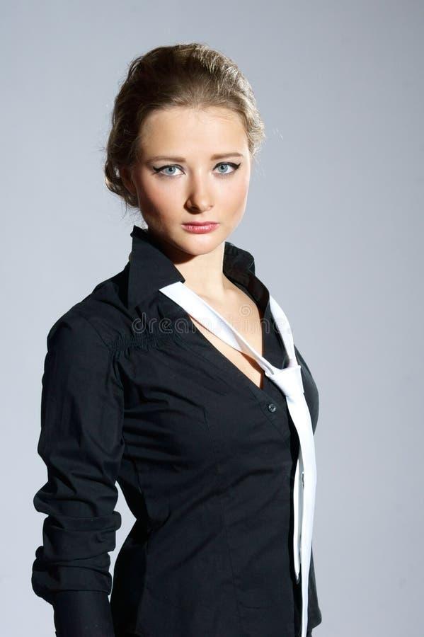 Elegante Frau stockbild