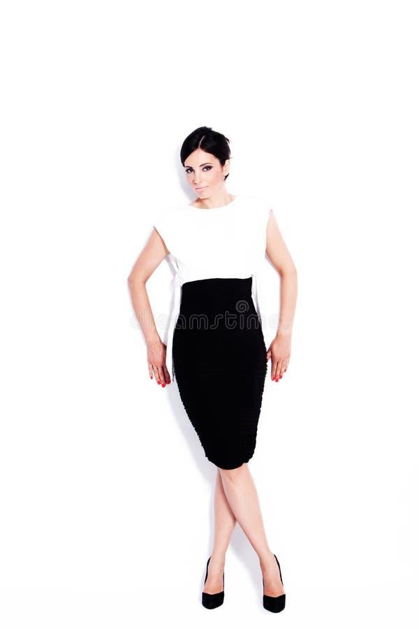 Elegante Frau lizenzfreie stockfotografie