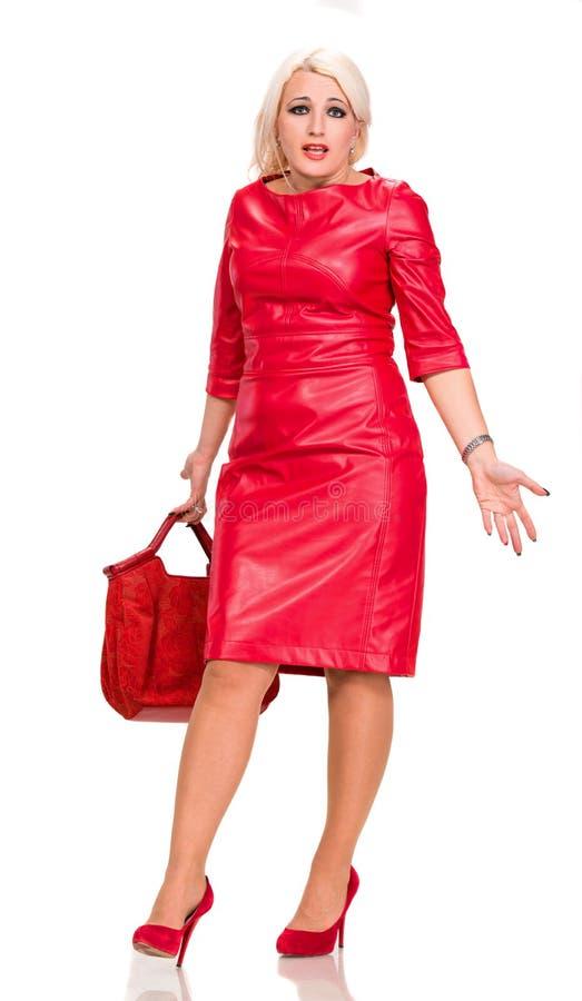 Elegante Frau stockfotografie