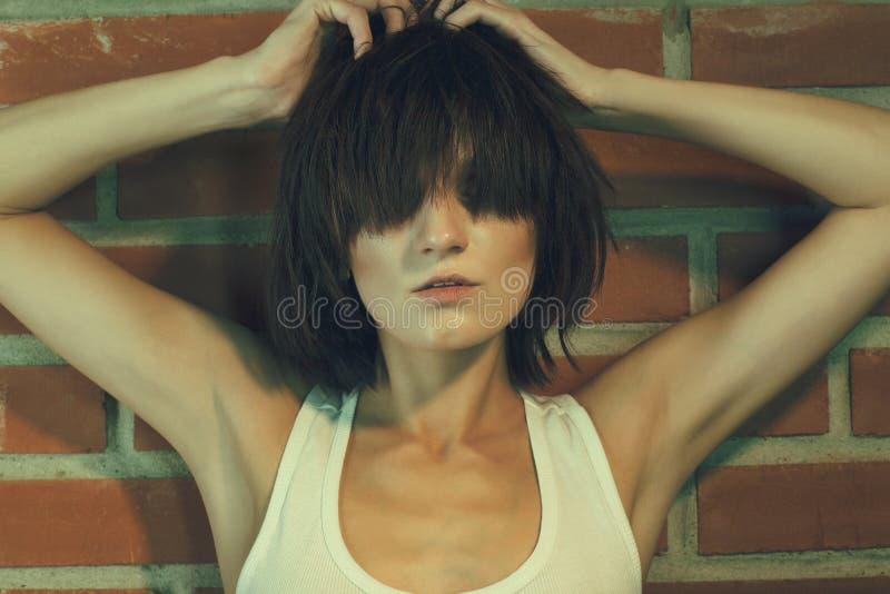 Elegante heroïne stock foto's