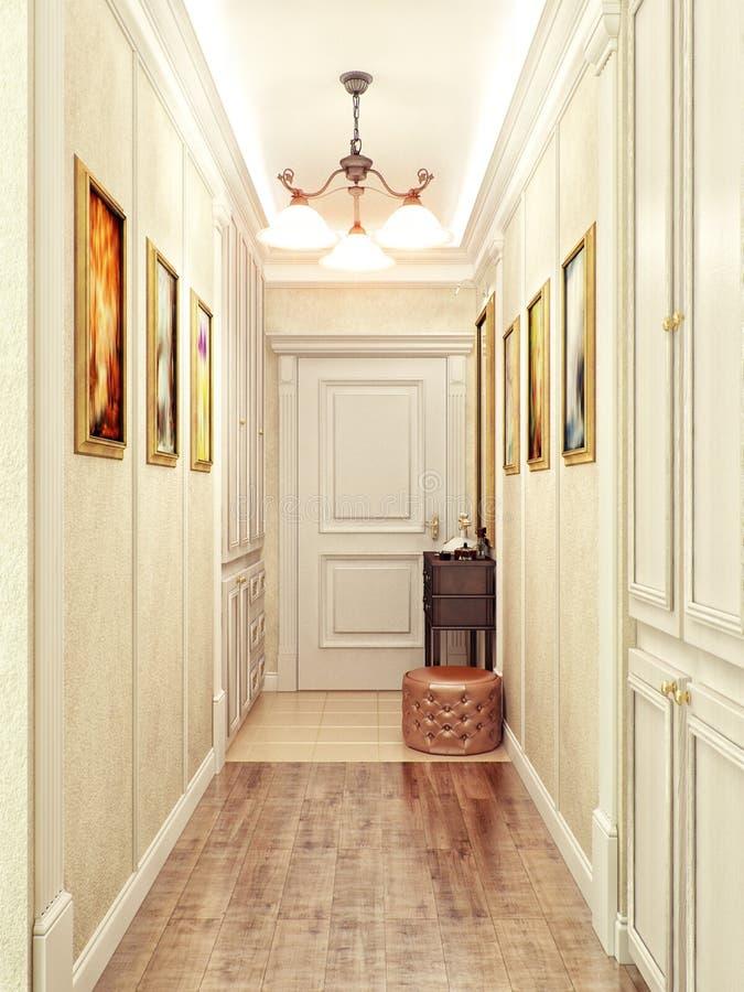 Innenarchitektur Halle elegante innenarchitektur der klassischen und luxuriösen halle mit