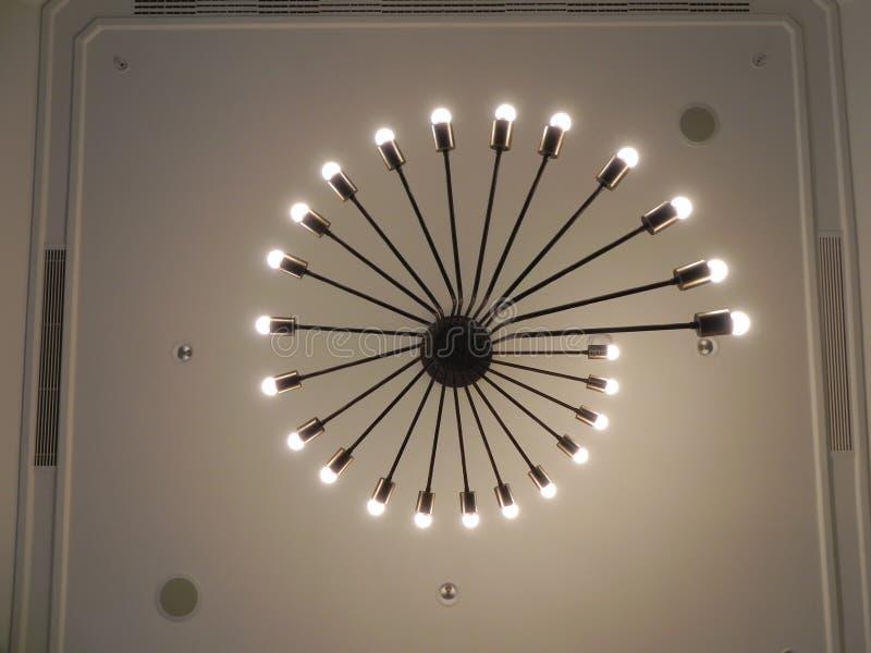 Elegante Leuchter stockfoto