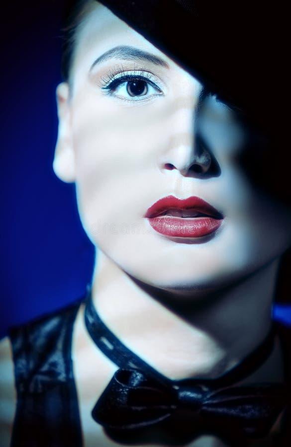 Elegante Lippen lizenzfreie stockfotos