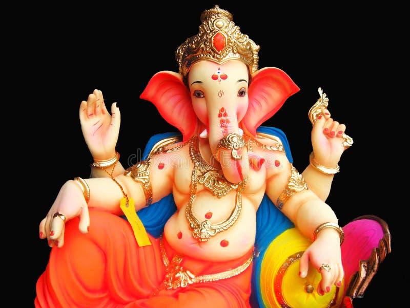 Elegante Lord Ganesha royalty-vrije stock foto