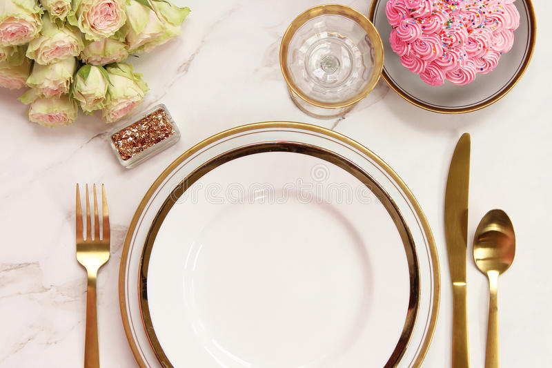 Elegante Mahlzeitzeit stockfotos