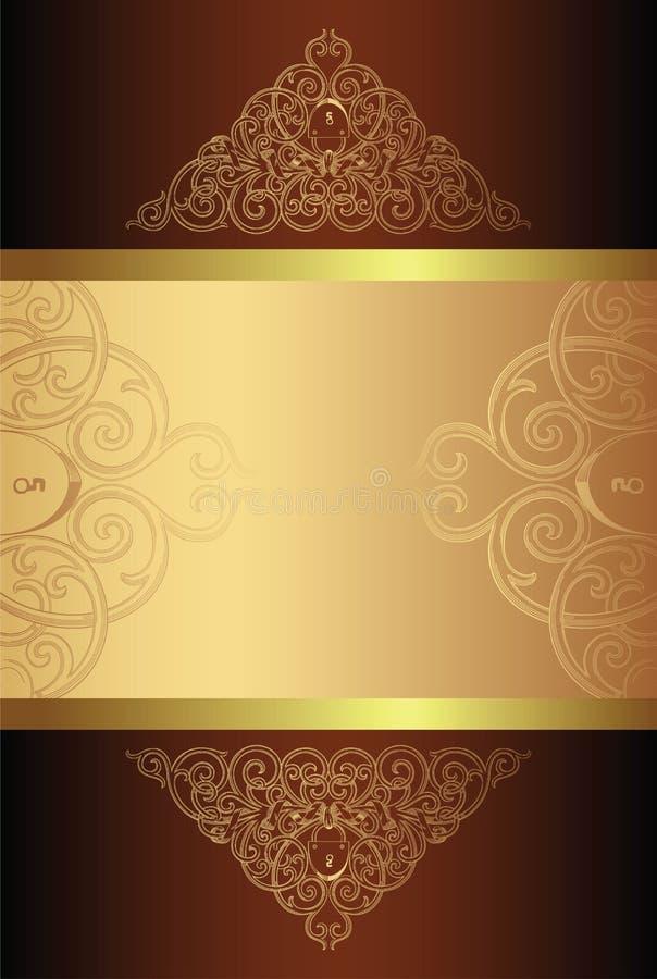 Elegante ontwerpachtergrond stock illustratie
