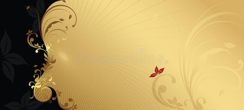 Elegante ontwerpachtergrond royalty-vrije illustratie