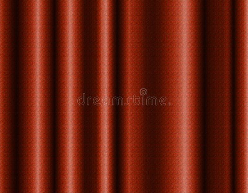 Elegante realistische gevormde gordijnachtergrond stock afbeelding