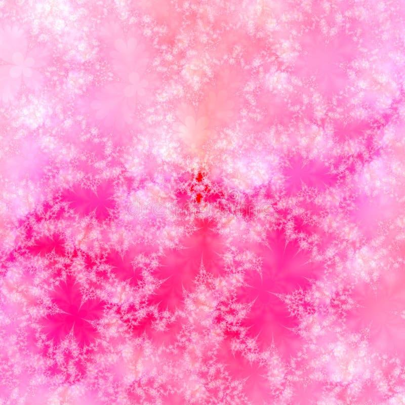 Elegante rosafarbene weiße und rote abstrakte Hintergrundauslegungschablone lizenzfreie abbildung
