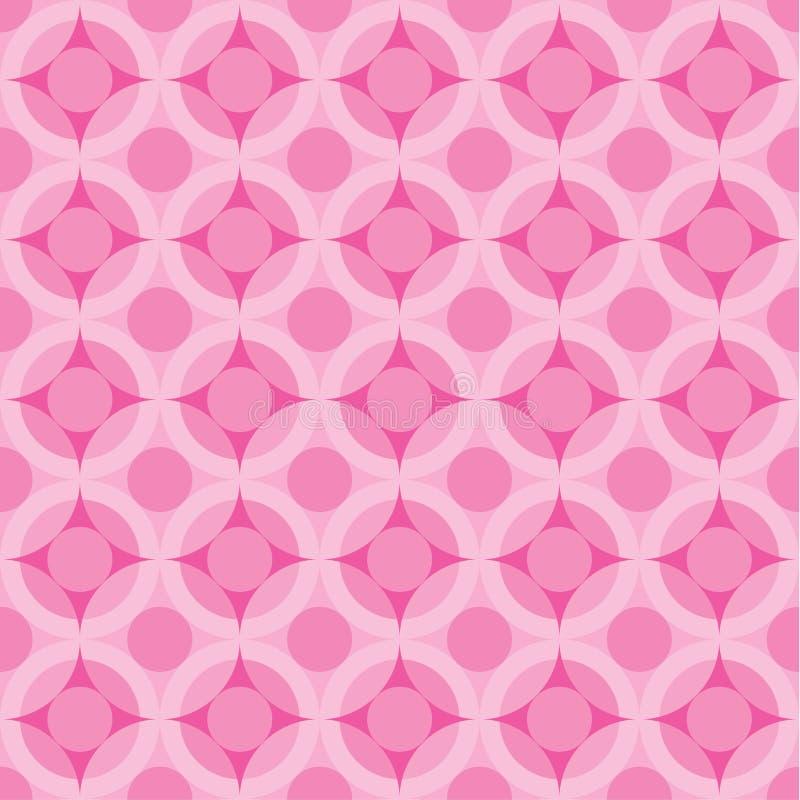 Elegante roze naadloze achtergrond royalty-vrije illustratie
