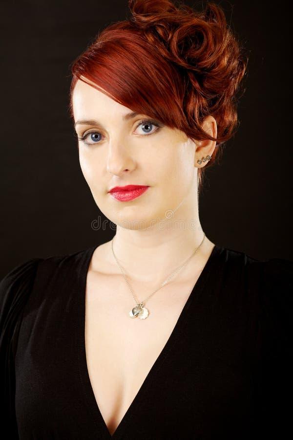 Elegante schöne Frau stockbilder