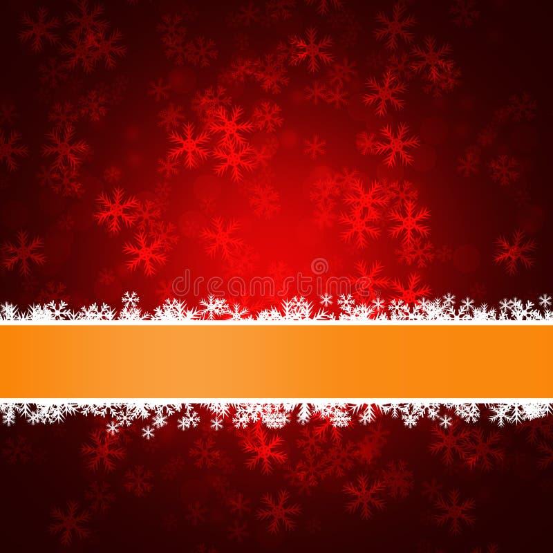 Elegante variopinto delle precipitazioni nevose deliziose di inverno su fondo astratto illustrazione vettoriale