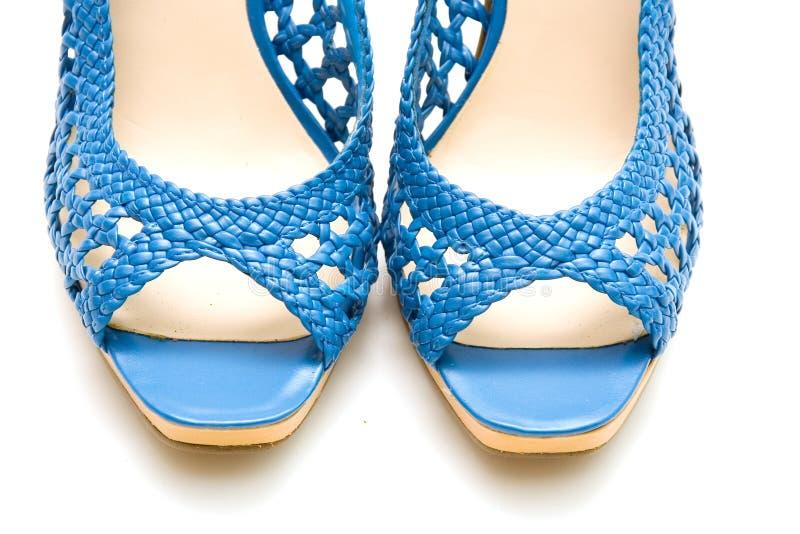 Elegante vrouwelijke schoenen royalty-vrije stock foto