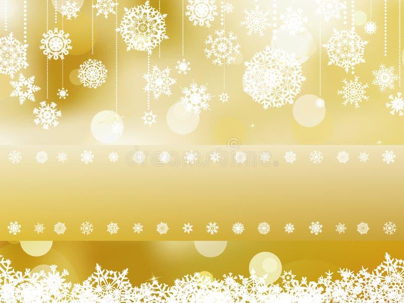 Elegante Weihnachtshintergrundeinladung. ENV 8 stock abbildung
