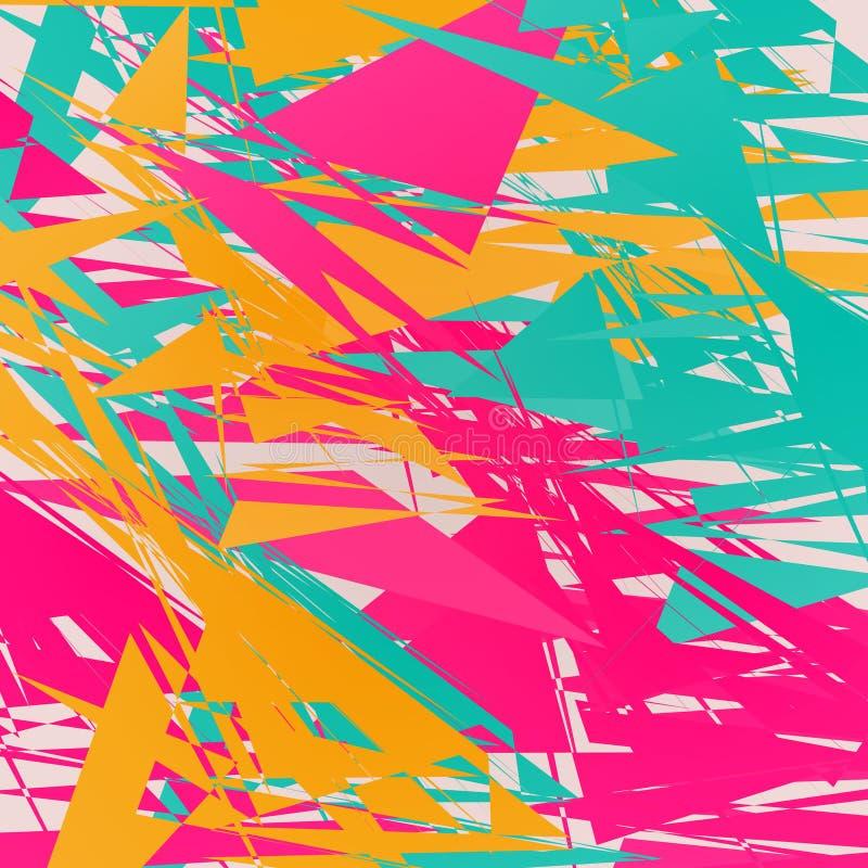 Eleganter abstrakter Hintergrund lizenzfreie abbildung