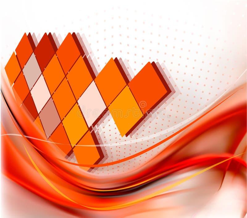 Eleganter abstrakter Hintergrund des Geschäfts lizenzfreie abbildung