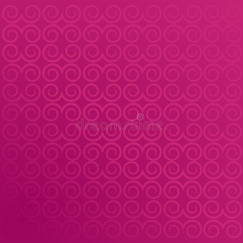Eleganter abstrakter purpurroter Hintergrund mit copyspace lizenzfreie abbildung