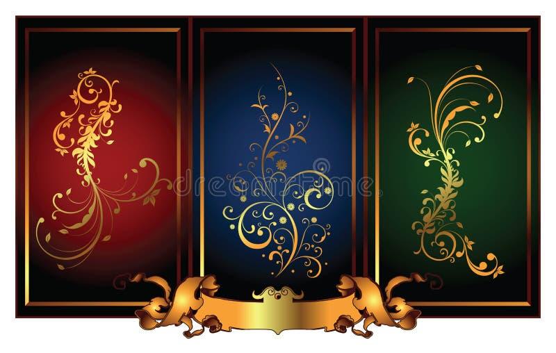 Eleganter Auslegung-Hintergrund stock abbildung