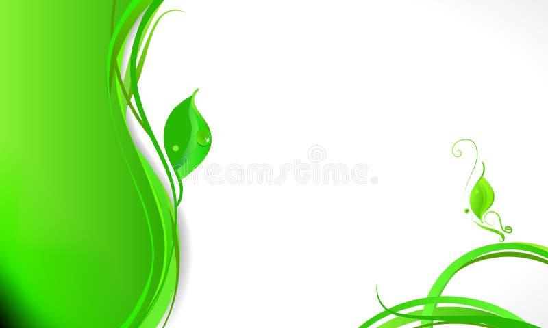 Eleganter Blumengeschäftshintergrund vektor abbildung