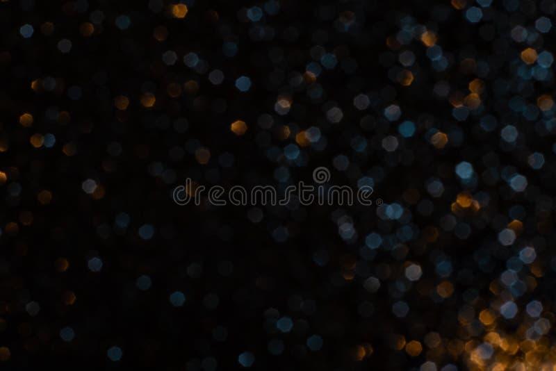 Eleganter Bukeh-Hintergrund Saisonale Kühllampe dekorativ abstrakt stockbild