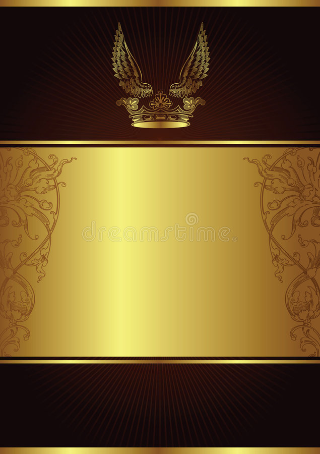 Eleganter desgin Hintergrund stock abbildung