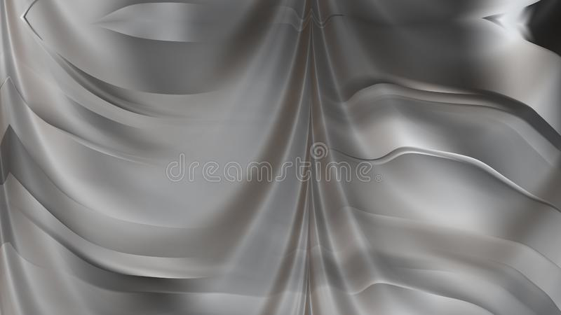 Eleganter Hintergrund Entwurf der grafischen Kunst Illustration Grey Abstract Texture Background Beautifuls vektor abbildung