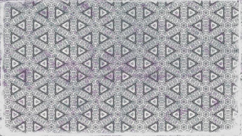 Eleganter Hintergrund Entwurf der grafischen Kunst Illustration Grey Decorative Background Pattern Beautifuls vektor abbildung