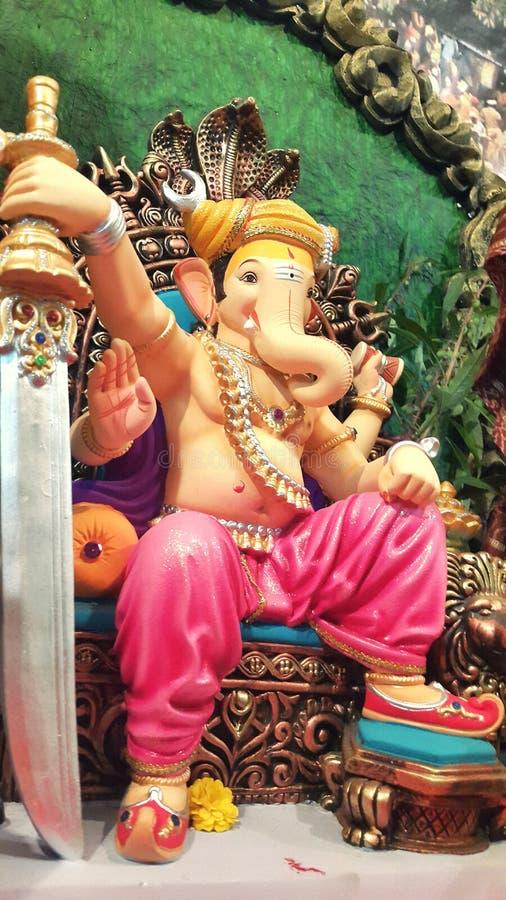 Eleganter Lord Ganesha stockbild