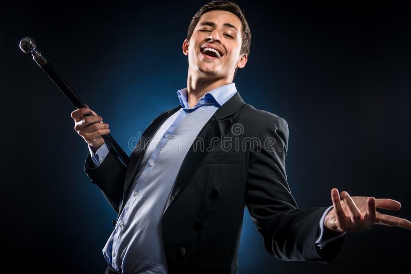 Eleganter Mann lizenzfreies stockfoto