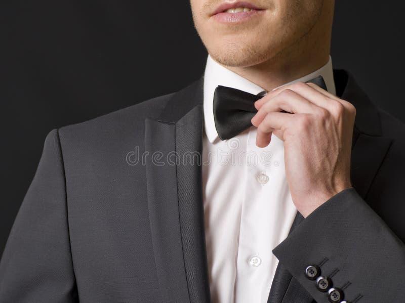 Eleganter Mann lizenzfreie stockbilder
