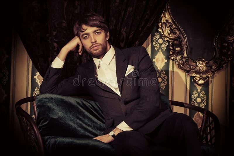 Eleganter Mann stockfoto