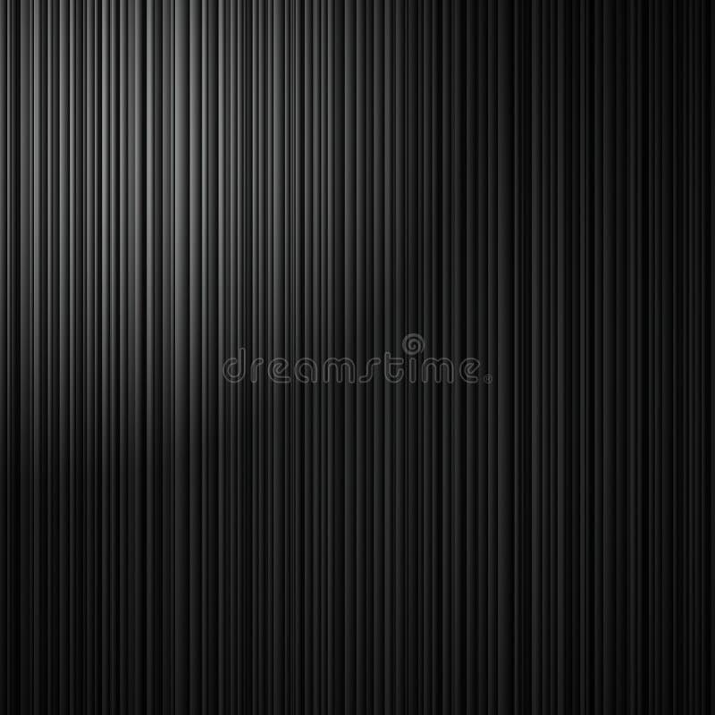 Eleganter schwarzer gestreifter Hintergrund mit abstrakten vertikalen Linien und weißem Eckscheinwerfer lizenzfreie abbildung