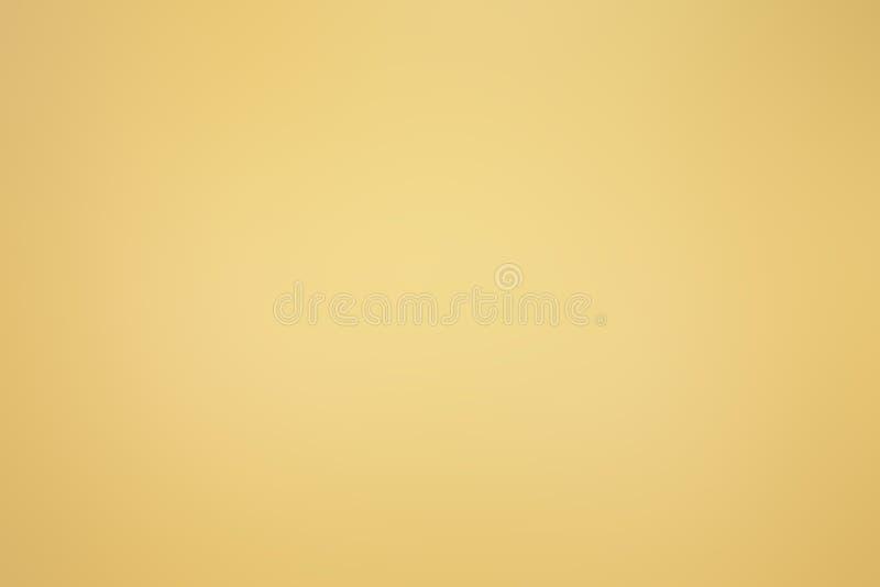 Eleganter Unschärfezusammenfassungshintergrund mit goldener Steigung für Ihr stockbilder