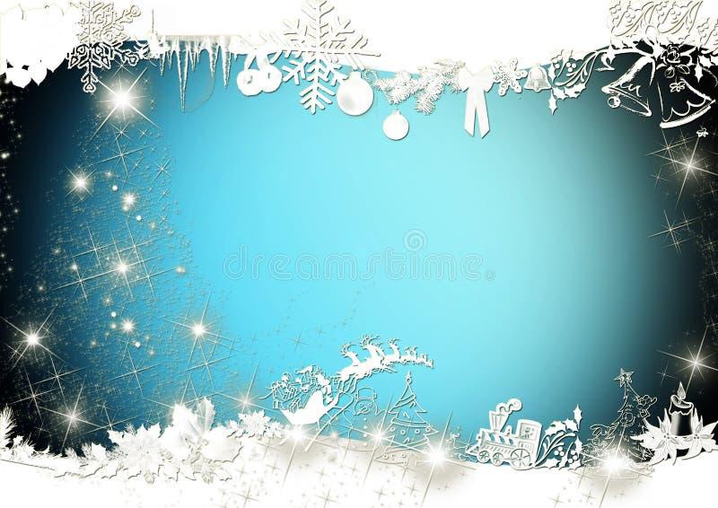 Eleganter Weihnachtshintergrund stock abbildung