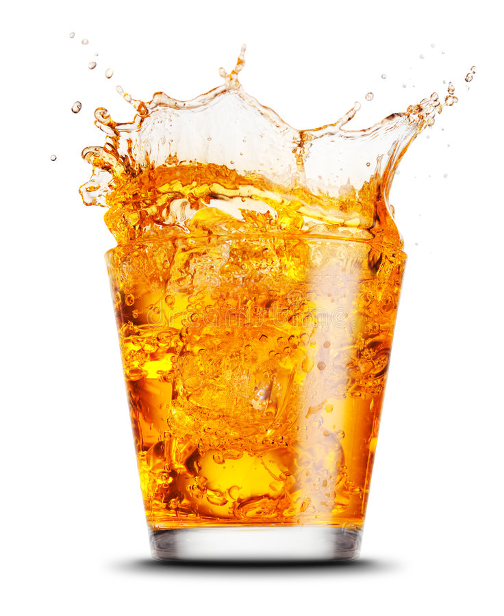 Elegantes Cocktailglas lizenzfreie stockfotografie