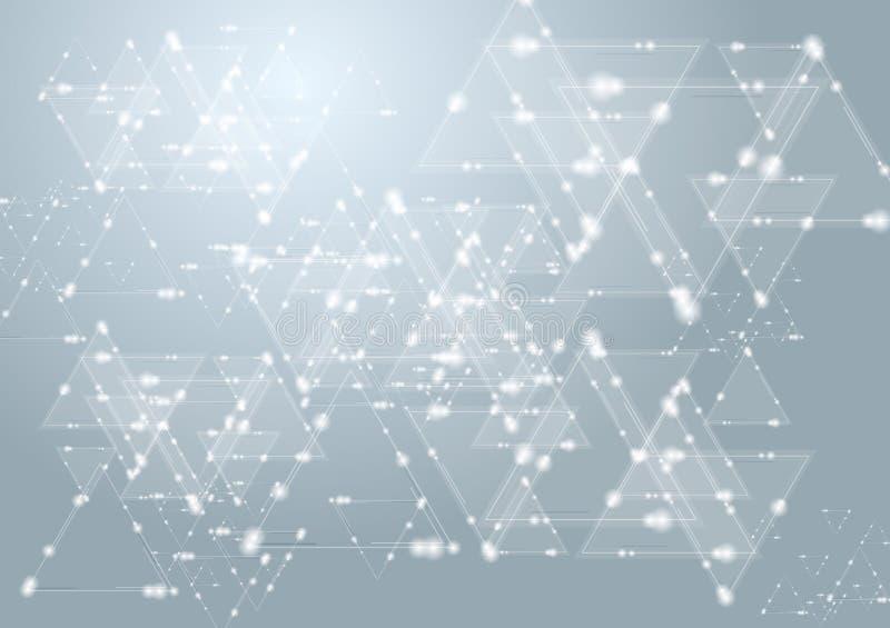 Elegantes Design der Vektortechnologie vektor abbildung