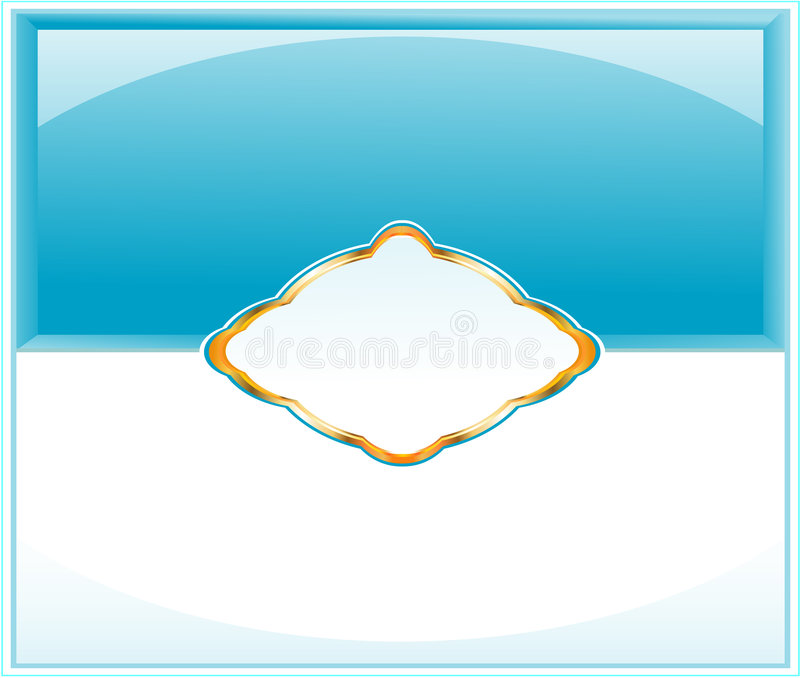 Elegantes Flayer oder packendes Pape stock abbildung