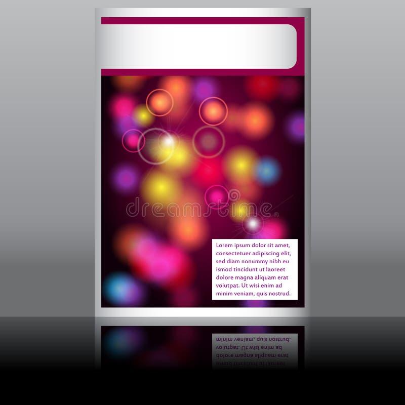 Elegantes Musikflugblatt lizenzfreie abbildung