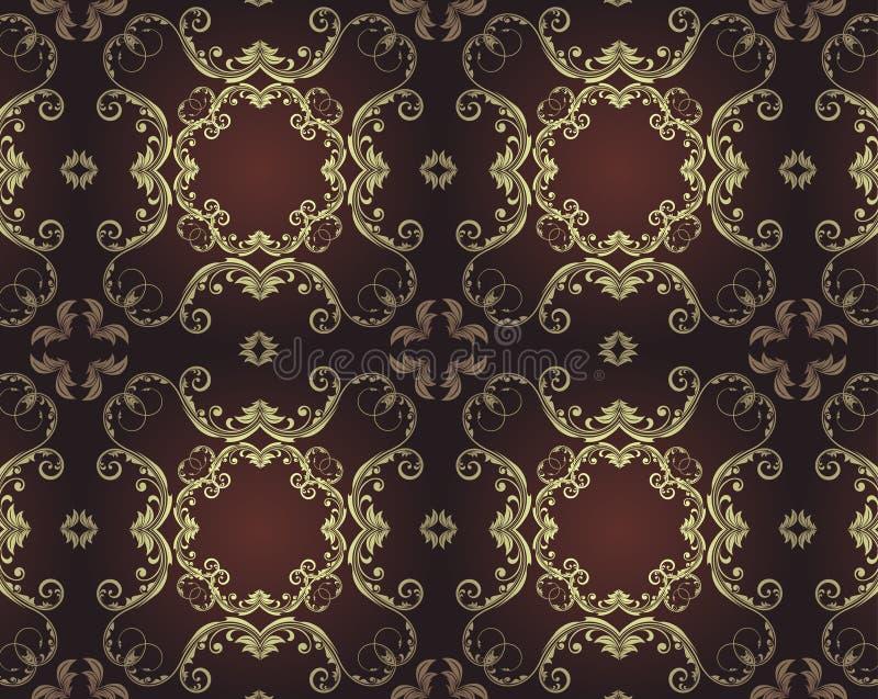 Elegantes nahtloses Muster vektor abbildung