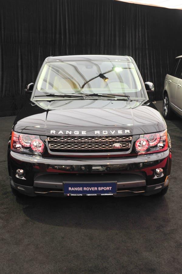Range Rover-Sport HSE lizenzfreies stockfoto