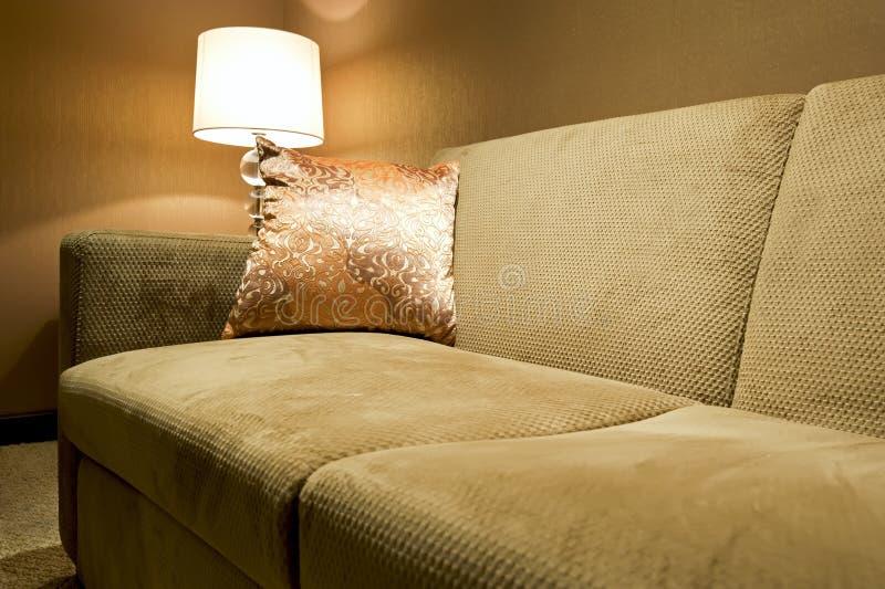 Elegantes Sofa stockfoto