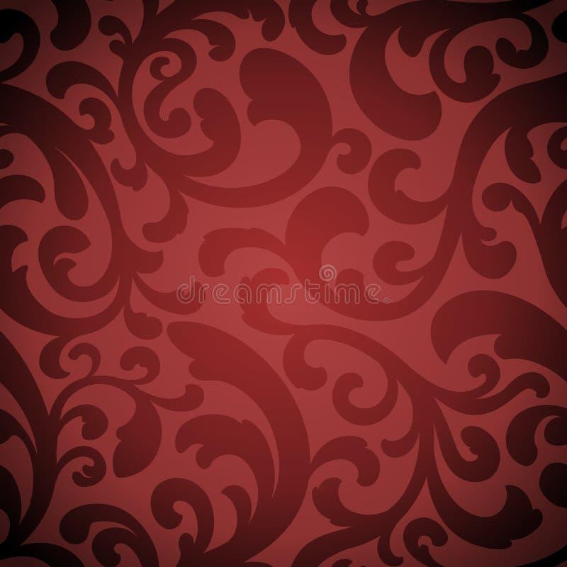 elegantt organiskt seamless för bakgrund vektor illustrationer