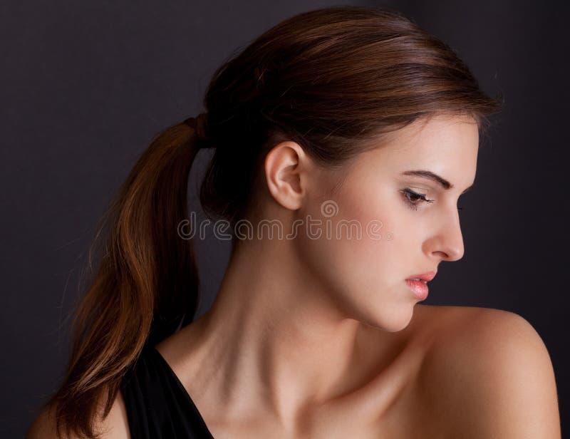 Elegantt profilera royaltyfri bild