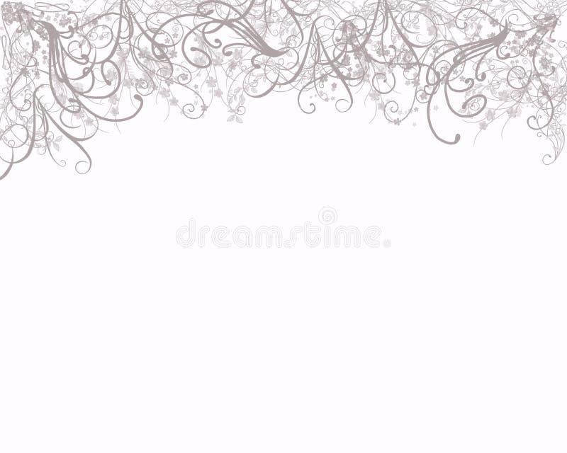 elegantt whispy för bakgrund vektor illustrationer