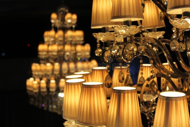 Elegent lights stock photos