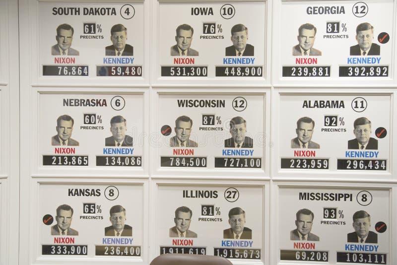 eleição 1960 presidencial   fotografia de stock