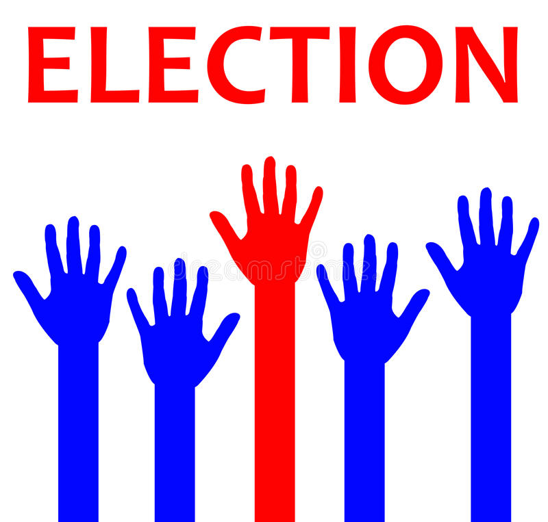 Eleição ilustração royalty free