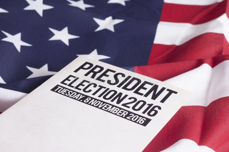 Eleição 2016 fotografia de stock royalty free