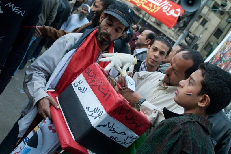 Eleição de Egypitian imagens de stock royalty free